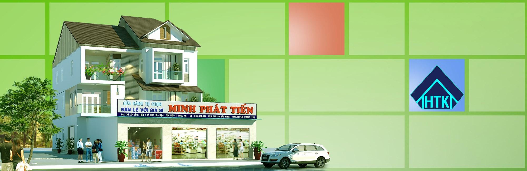 Nhà phố 3 tầng kết hợp kinh doanh- Đức Hòa-Long An